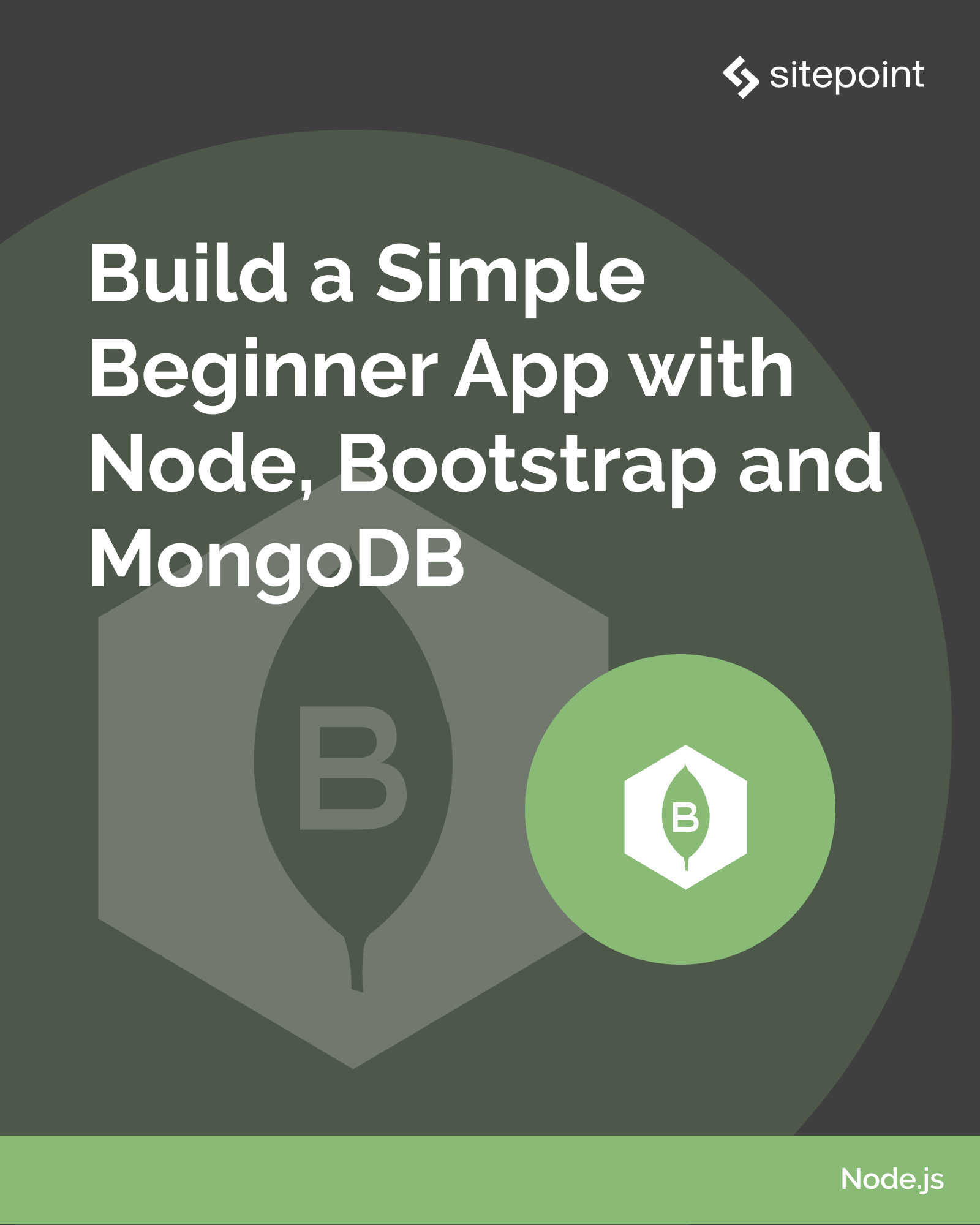 Build a Simple Beginner App with Node, Bootstrap and MongoDB