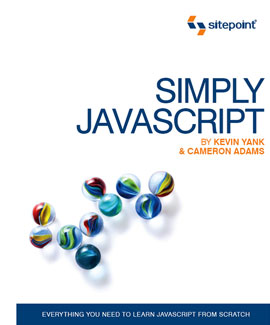Simply JavaScript product shot